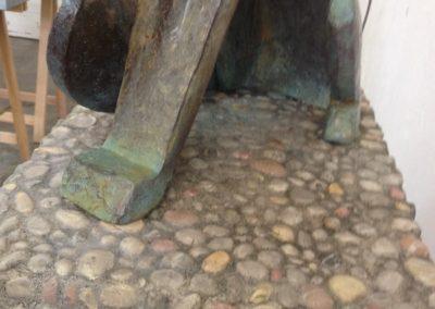 Bronze et cailloutis