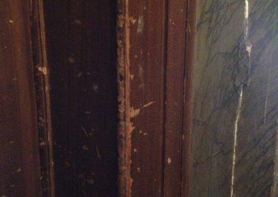 cadre de porte, avant.