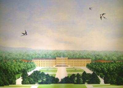 Le chateau de Schönbrunn.