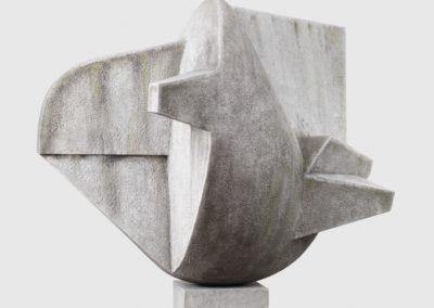 Pour Valentin Carron: réplique de sculpture, marbre.